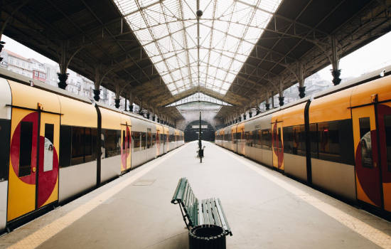 Vista desde estación de Trenes