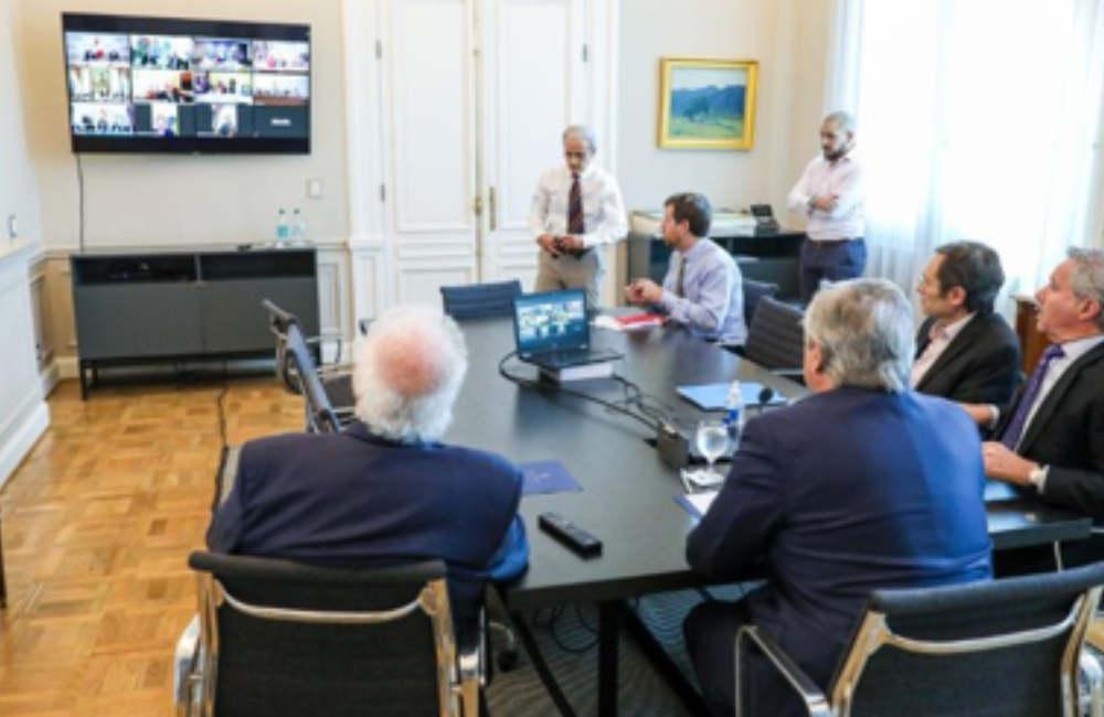 Video conferencia en Argentina